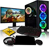 Best Gaming Desktop Computers - ADMI Gaming RGB PC Package: AMD A8 Quad Review