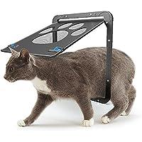 AIHOME Tapa Perros y Gatos Tapa Mascotas magnético de la Pantalla para Puerta con Cerradura Puerta Mascotas de Fácil Instalación Suficiente Libertad para Gatos y Perros Pequeños, 24x 29cm