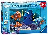 Ravensburger Italy 07601 7 - Puzzle Alla Ricerca di Dory, 2 x 12 Pezzi