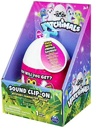The Wish Factory - Egg hatchimals with Clip and Sound, 5547, 9 cm