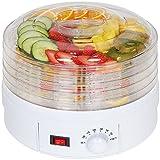 #5: Moradiya Fresh Countertop Portable Electric Food Fruit Dehydrator Machine with Adjustable Thermostat(5 Tray)