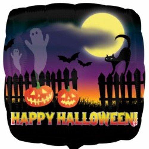 7.966.204,5cm Haunted Halloween Scene Folie Ballons (Standard) ()