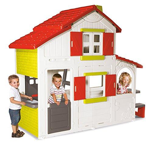 smoby 7600320023 casetta duetto negozio di casette da. Black Bedroom Furniture Sets. Home Design Ideas