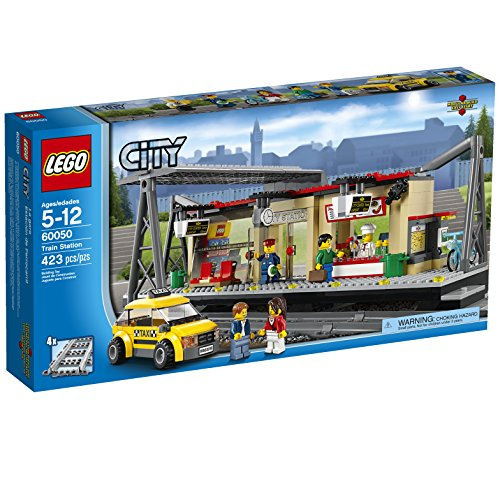 LEGO City Trains Train Station 60050 Building Toy  available at amazon for Rs.15699