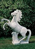 Pferd Statue Gartenfigur aus Betonwerkstein Steinfiguren Garten-Statue Dekofigur Gartenskulptur