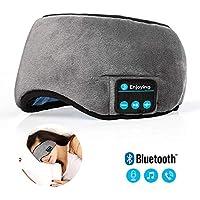 Preisvergleich für Bluetooth Schlaf Augenmaske Kopfhörer, QYXANG Reise Schlaf Kopfhörer 4.2 Bluetooth Augenmaske Freisprecheinrichtung...