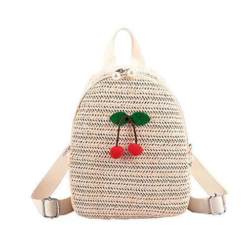 XZDCDJ Schulrucksack Mädchen Schultaschen Rucksack Schultasche Daypacks für Damen Farbabstimmung Wild Mode Freizeit Reisetasche Student Bag schöne RucksackD