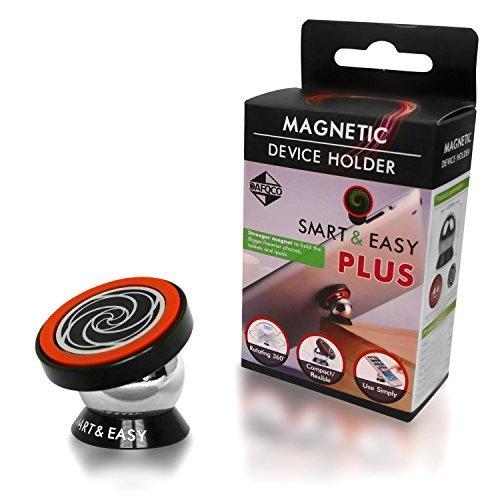 Magnetische Smartphone-Halterung - Magnetische Smartphone Montierung - Smartphone-Automontierung - Smartphone Halterung für Zuhause, das Büro, die Küche - Auf jeder glatten Oberfläche anbringbar