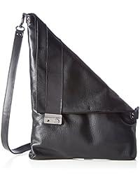 Lilimill - Piega Alce Nero, Shoppers y bolsos de hombro Mujer, Schwarz (Nero), 33x0,5x31 cm (B x H T)