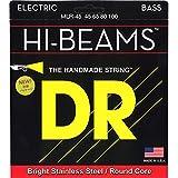 DR Strings HI-BEAM 45-100 Jeu de Cordes pour Guitare Basse