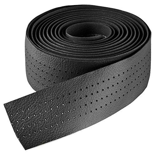 Selle Italia Unisex- Erwachsene Lenkerband Smootape Classica Leder Gel 2.5 mm Accessoires, black leather, unisize