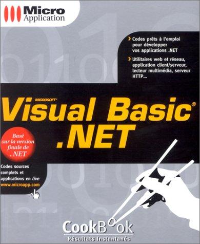 VISUAL BASIC.NET par YANNICK LEJEUNE - VINCENT