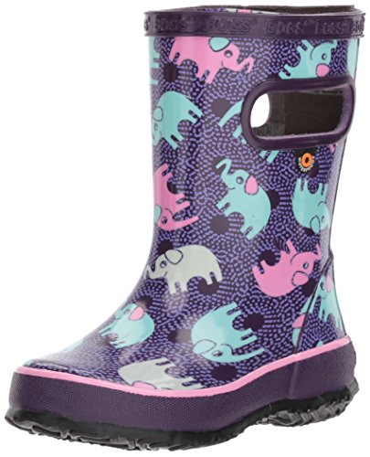 BOGS Unisex-Child Skipper Elephants Skipper Elephants