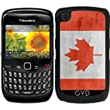 DesignedByIndependentArtists Hülle für BlackBerry Curve 8520/8530/9300/9330 - Kanada-Flagge by Wamdesign