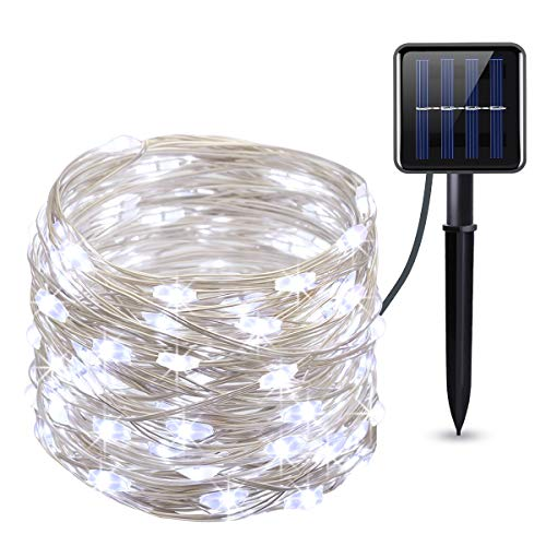 Solar powered lighting string