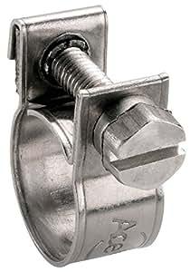 Collier miniclamp inox W4 Ace - Diamètre 13 - 15 mm - Vendu par 10