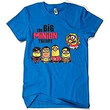 208-Camiseta The Big Minion Theory (DONNIE)