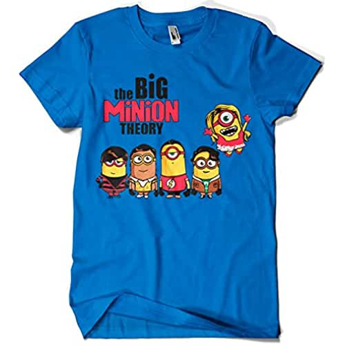 dia del orgullo friki 208-Camiseta The Big Minion Theory (DONNIE)