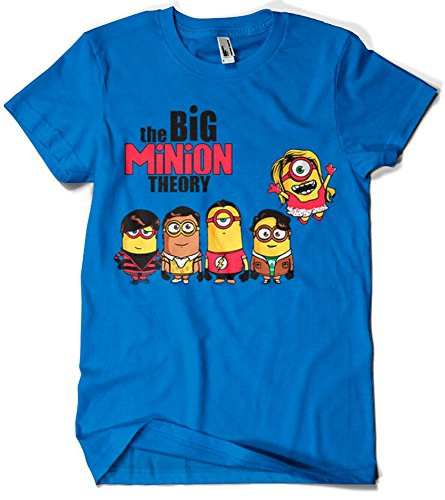 Camisetas La Colmena 208-Parodie The Big Minion Theory T-Shirt (Donnie)