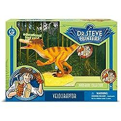 Geoworld - Velociraptor, figura articulada (DeQUBE Trading S.L. CL1550K)