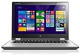 Lenovo Yoga 2-13 33,8 cm (13,3 Zoll FHD IPS) Convertible Ultrabook (Intel Core i3 4010U, 1,7GHz, 4 GB RAM, 500GB HDD, Intel HD Graphics 4400, Touchscreen, Win 8.1) silber