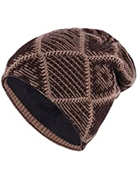 Amazon.it  cappello lana uomo - TMEOG   Cappelli e cappellini ... b32b9bd41540