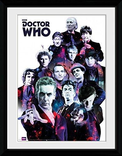 Cosmo Gerahmt (1art1 92511 Doctor Who - Cosmos Gerahmtes Poster Für Fans Und Sammler 40 x 30 cm)