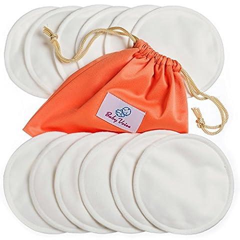 Nursing Pads 12 Pack | Organic Bamboo | Laundry &