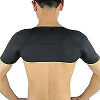 greatstorys terapia magnética térmica Autocalentamiento cinturón de hombro Pad Apoyo hombro Protector de pantalla para casa deporte o deportes al aire libre