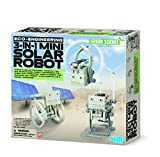 Make Your Own 3-in-1 Mini Solar Robot - Young Scientist Set - Top Quality Educational - Science Toys & Games Gift Present Idea For Birthdays Age 8+ Kids Children Girls Boys