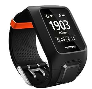 TomTom Adventurer Orologio GPS per Outdoor, Cardiofrequenzimetro e Music Player Integrato, Rilevamento Attività Outdoor, Esplorazione del Percorso, Nero