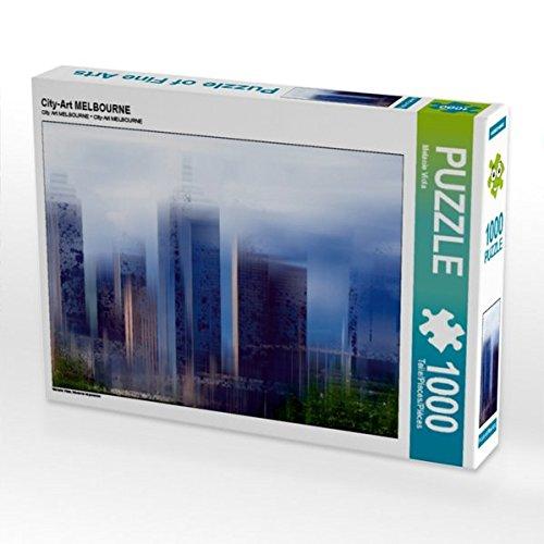 City-Art MELBOURNE 1000 Teile Puzzle quer