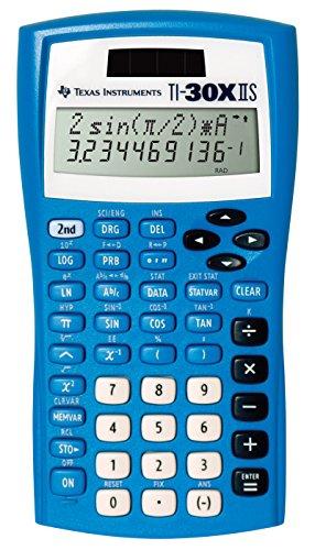 Texas Instruments Fundamental, Two-Line Scientific Calculator, Blue (30XIIS/TBL/1L1/BA) by Texas Instruments