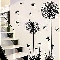 (5) - Revesun Dandelion Home DA A cor Wall Sticker Paper Stickers For Living Room