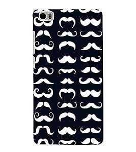Fabcase mustache man royal different sizes unique compitative Designer Back Case Cover for Xiaomi Mi 5 :: Redmi Mi5
