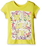 #7: United Colors of Benetton Baby Girls' T-Shirt (16A3094C163EI10F1Y_Yellow_1Y)