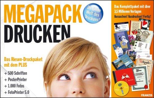 megapack-drucken-1-cd-rom-u-1-dvd-das-riesen-druckpaket-mit-dem-plus-500-schriften-posterprinter-100