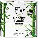 Le Coquin Panda Bambou 100% papier toilette rouleau de soie–Doux, Peau, Super Absorbant, écologique, sans produits...