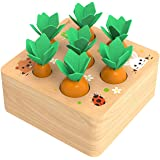 XIAPIA Giocattoli Montessori Legno,Giochi Montessori 2 Anni Giocattoli Educativi Compleanno per Bambini Gioco Puzzle…