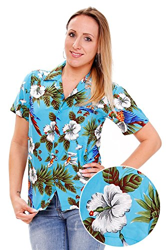 3d4ee4f876cb Camisas hawaianas de mujer - Happy Hawaii