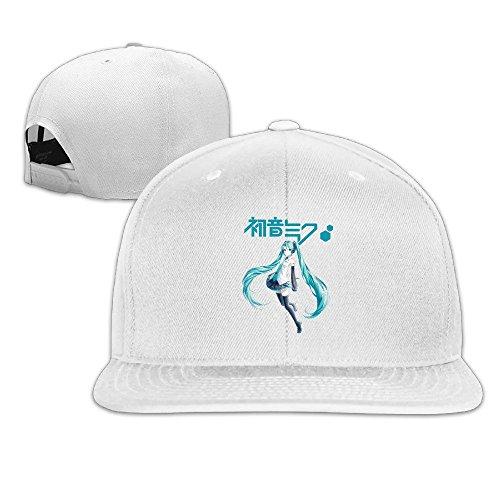 thna-hatsune-miku-girl-figurine-logo-reglable-fashion-casquette-de-baseball-blanc-taille-unique