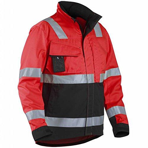 Blakläder Combinaison de zbund Veste avec bandes réfléchissantes Classe 3 Rouge/Noir
