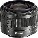 Canon EF-M 15-45mm F3.5-6.3 IS STM Objektiv (49mm Filtergewinde) schwarz