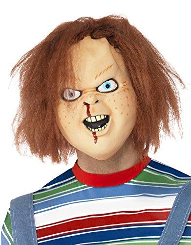 Childs Play Kostüm Zubehör, Herren Chucky Maske