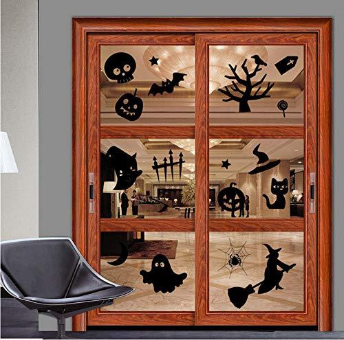 Meaosyy 1 * Halloween Wandaufkleber Happy Halloween Haushalt Zimmer Umweltschutz Wandaufkleber Wandbild Dekor Aufkleber Abnehmbare Neue