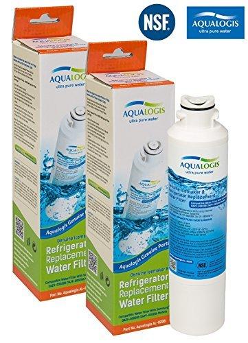 2 x Aqualogis Wasserfilter ersetzt Samsung DA29-00020B, DA29-00020A, HAF-CIN, HAFCIN