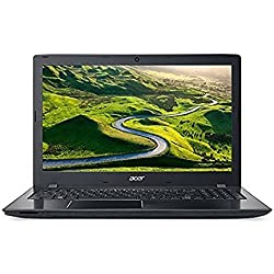 Acer Aspire E5- 575G- 51VA 15.6-inch Laptop (Core i5-7200U/8GB/1TB/Linux/Nvidia GeForce 940MX Graphics), Black