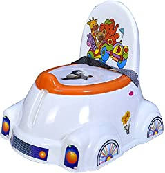 Abasr Panda Creation Moto Potty Seat (Orange & White)
