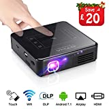 Best Dlp Projectors - OTHA Mini Portable Projector, Android 7.1 & 2G Review