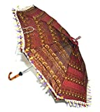 Lalhaveli Sun Protection Sequin Work Sil...